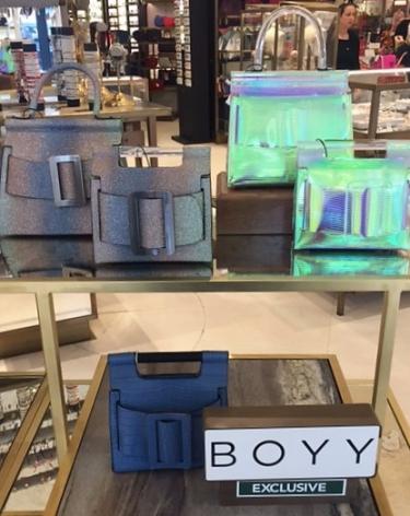 Fenwick handbag display