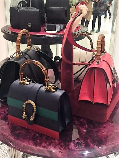 Guicci handbags SS17 collection