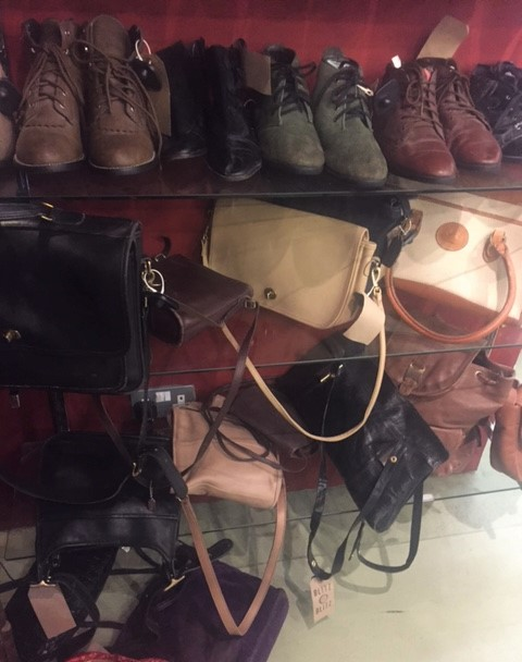 Coach handbags on Brick Lane London