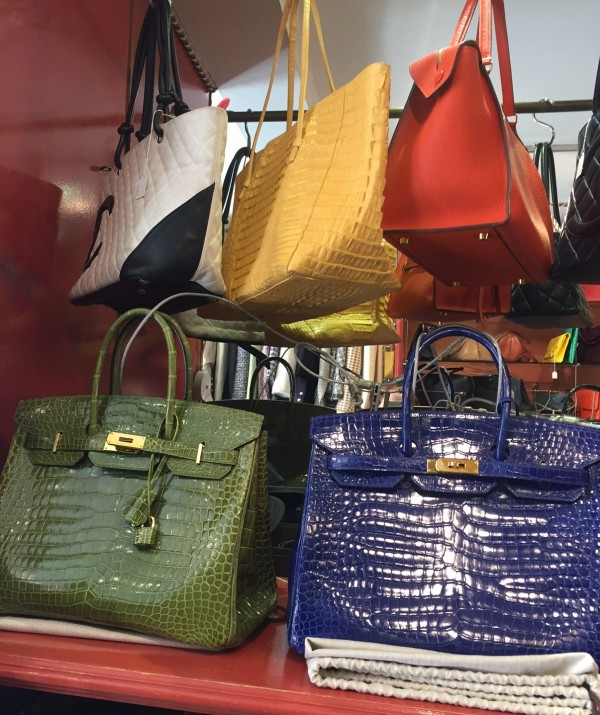 Secondhand designer handbags in west London