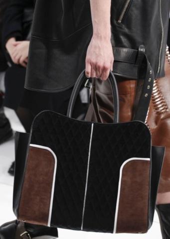 Colour block handbag from Tod's