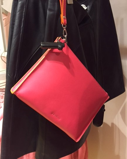 Pink handbag from high street Whistles and is under £100