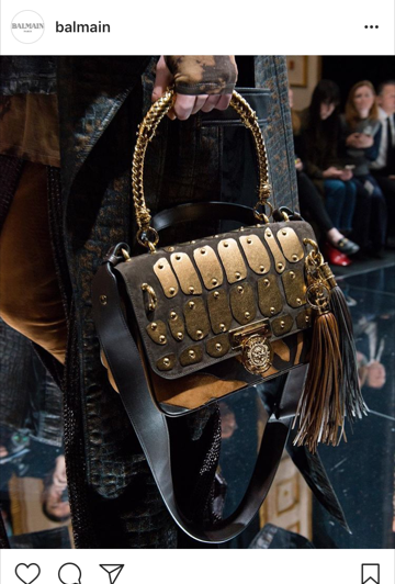 Balmain AW17 handbag - Renaissance 28