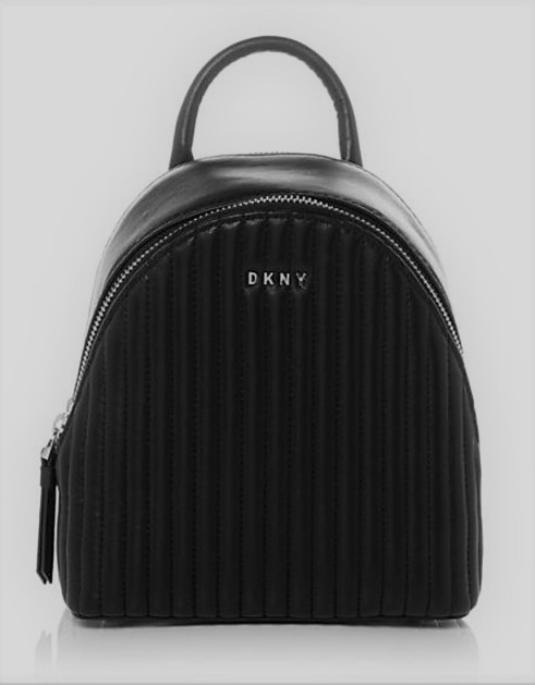 DKNY quilted mini leather backpack bag
