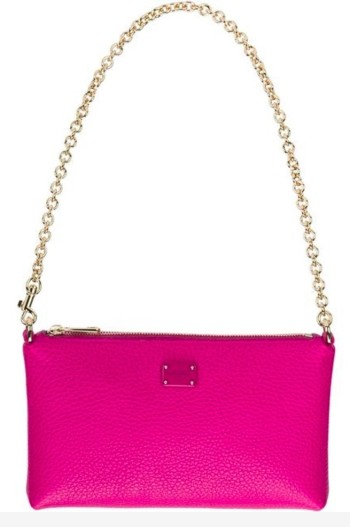 Dolce and Gabbana pink evening bag