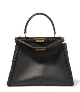 Fendi Peekaboo whipstitched handbag from Net A Porter