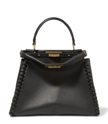 Fendi Peekaboo whipstitched handbag from Net A Porter