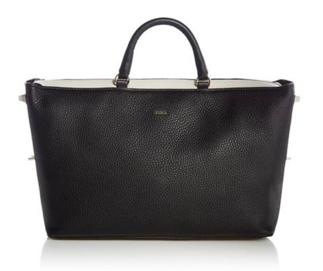 Furla Blogger large leather tote bag