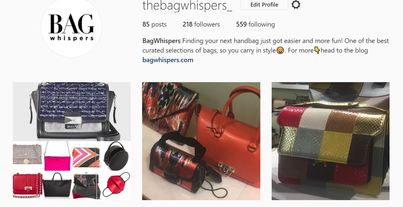5 favourite bags from instagram for London Fashion Week