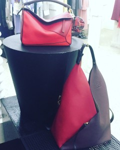 Loewe puzzle and sling bags