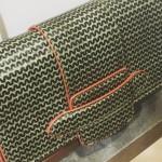 Michino wave clutch bag