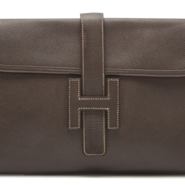 Hermes Jige PM Swift Clutch bag from Rewind