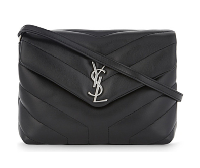YSL monogram quilted Lou Lou bag from Saint Laurent