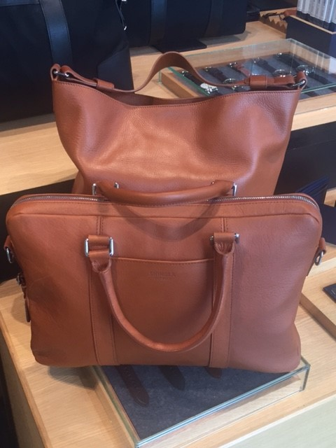 Shinola leather bags