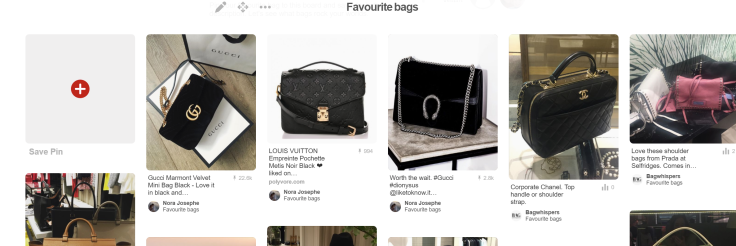Favourite bags on Pinterest