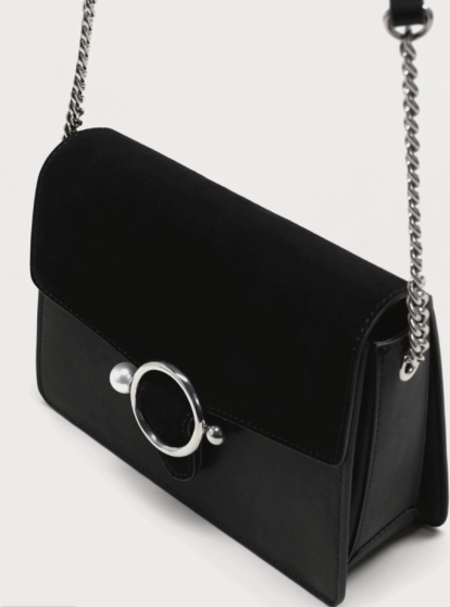 Bags to wear with your LBD - Mango