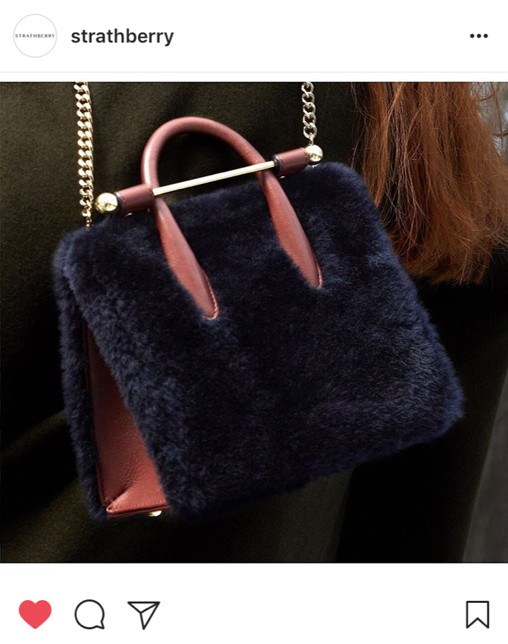 Buy British Day - Strathberry Shearling bag