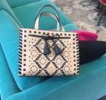 Hayes Street woven Isobel bag