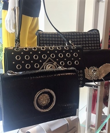 Evening bags found at Bicester Village