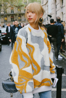 Fashion week street style looks