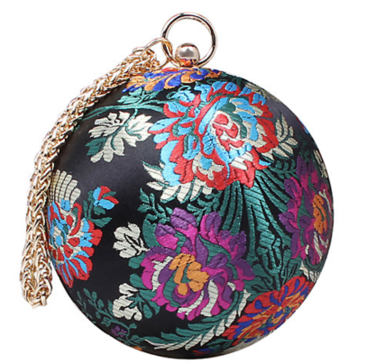 Carvela multicolour circular guide clutch bag