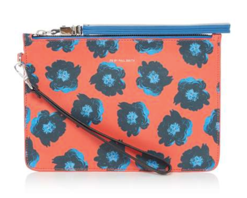 Sea Aster clutch bag from Paul Smith