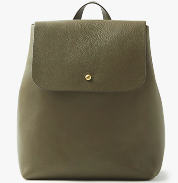John Lewis Rhea Leather Backpack