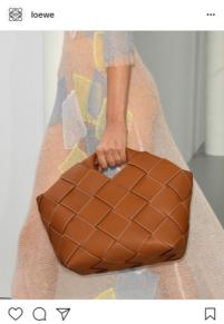 Natural tan and brown bags