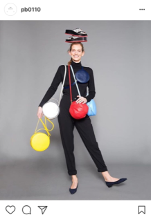 Primary colour bags