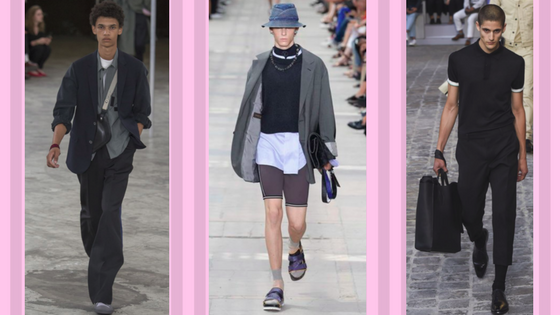 Spring summer 2018 men's fashion accessories