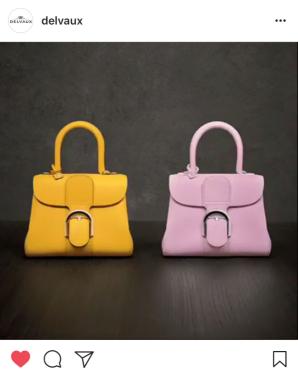 Spring/summer 2018 handbag fashion trends - pastels