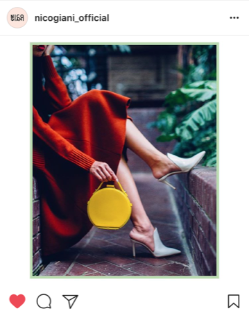 Primary coloured designer handbags - Nico Giani