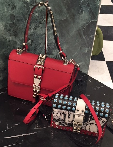 Designer handbags for Spring 2018 - Prada
