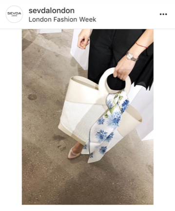 Designer handbags from London Fashion Week - February 2018