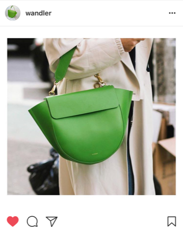 Primary coloured designer handbags for Spring 2018