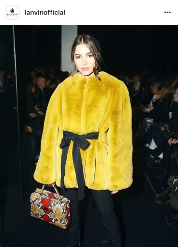 Designers from Milan and Paris fashion weeks and their handbags
