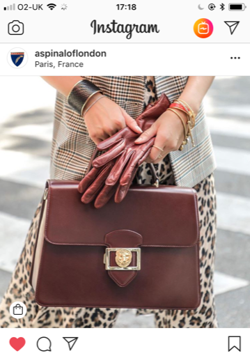Something for the weekend - 5 favourite bags on instagram