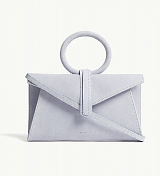 Complet Valery mini suede bag