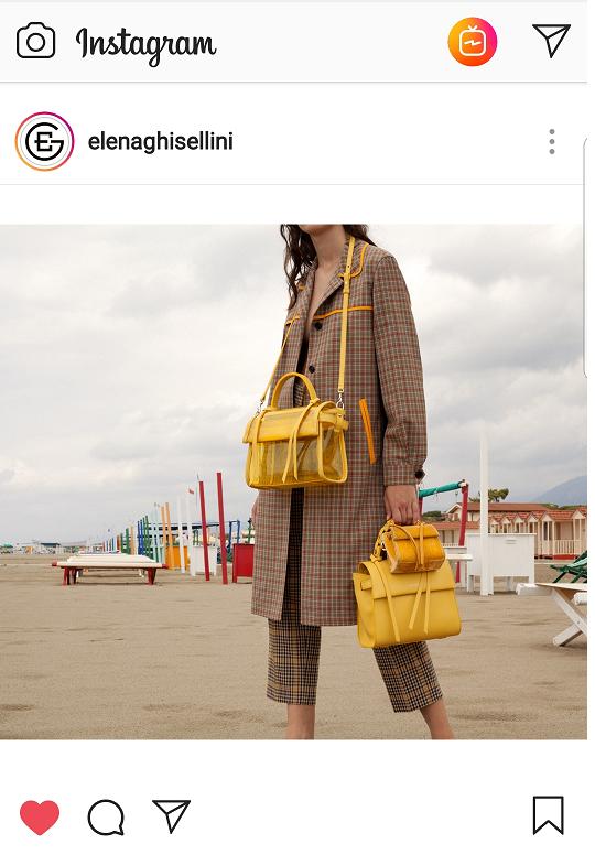 Elena Ghisellini Angel bags