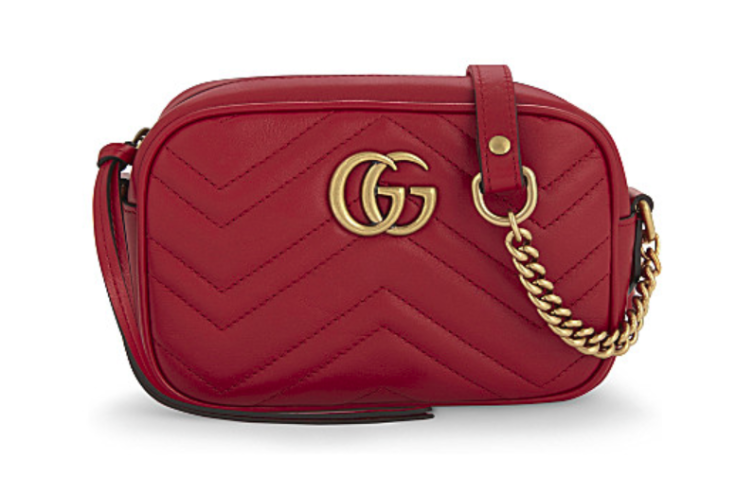 Gucci GG Marmont quilted crossbody bag