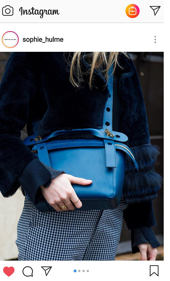 The Bolt bag by Sophie Hulme