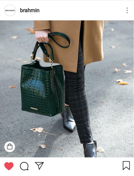 The croc effect - the bag to take you from winter to spring