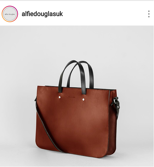 Natural brown fashion bags for Spring and Summer 2019.  Even if you have corproate days, check out Alfie Douglas.