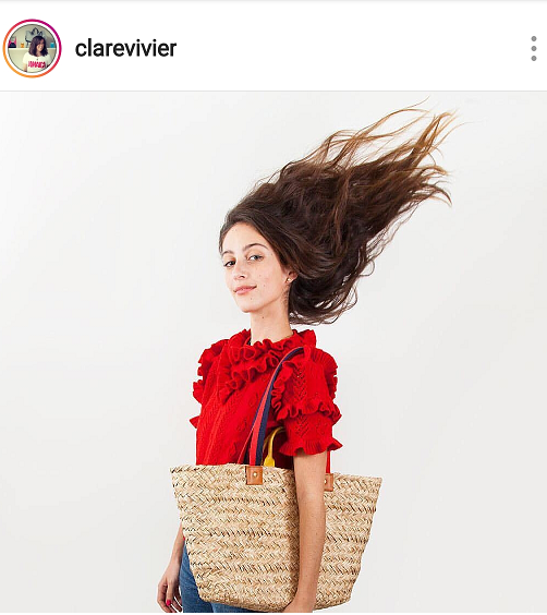 Neutral brown fashion bags for Spring and Summer 2019.  The woven Le Big Sac from Clare Vivier.
