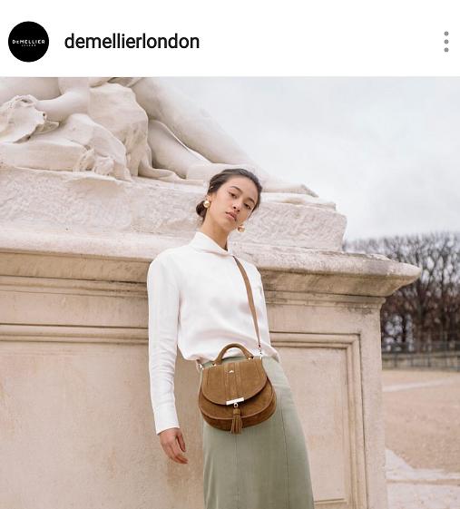 De Mellier London has neutral brown fashion bags for Spring Summer 2019