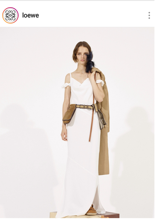 Neutral brown fashion bags for Spring and Summer 2019 including a belt bag in suede from Loewe.