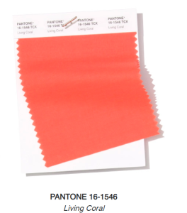 Pantone colour of the year, light coral