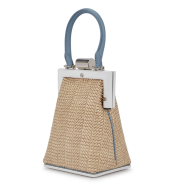 New season fashion bags for Spring and Summer 2019.  Woven and raffia bags will be a summer feature.  Perrin from Paris brings elegance to this style