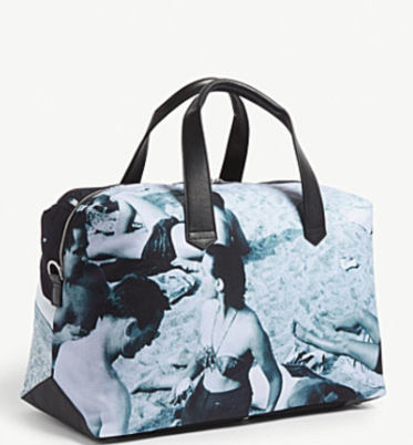 Paul Smith Beach print holdall reverse