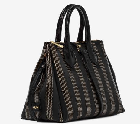 Gum design Fourty handbag soft stripe